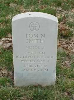 SMITH  (VETERAN WWI), TOM N - Pulaski County, Arkansas | TOM N SMITH  (VETERAN WWI) - Arkansas Gravestone Photos
