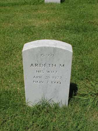 SMITH, ARDETH M - Pulaski County, Arkansas | ARDETH M SMITH - Arkansas Gravestone Photos