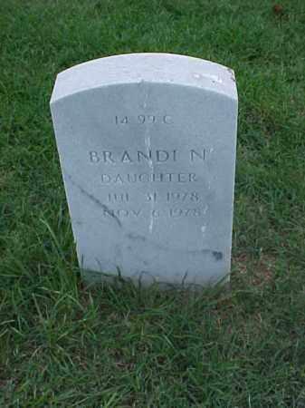 SMITH, BRANDI N - Pulaski County, Arkansas | BRANDI N SMITH - Arkansas Gravestone Photos