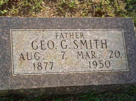 SMITH, GEORGE G. - Pulaski County, Arkansas   GEORGE G. SMITH - Arkansas Gravestone Photos