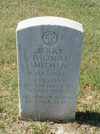 SMITH, JR. (VETERAN WWII), JERRY THOMAS - Pulaski County, Arkansas | JERRY THOMAS SMITH, JR. (VETERAN WWII) - Arkansas Gravestone Photos