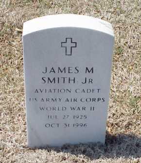 SMITH, JR (VETERAN WWII), JAMES M - Pulaski County, Arkansas   JAMES M SMITH, JR (VETERAN WWII) - Arkansas Gravestone Photos