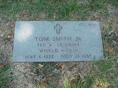 SMITH, JR (VETERAN WWII), TOM - Pulaski County, Arkansas | TOM SMITH, JR (VETERAN WWII) - Arkansas Gravestone Photos