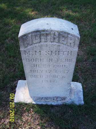 SMITH, M M - Pulaski County, Arkansas | M M SMITH - Arkansas Gravestone Photos