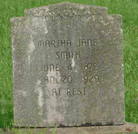 SMITH, MARTHA JANE - Pulaski County, Arkansas | MARTHA JANE SMITH - Arkansas Gravestone Photos