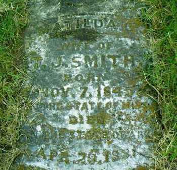 SMITH, MATILDA G - Pulaski County, Arkansas   MATILDA G SMITH - Arkansas Gravestone Photos