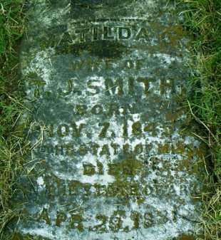NABERS SMITH, MATILDA C. - Pulaski County, Arkansas | MATILDA C. NABERS SMITH - Arkansas Gravestone Photos
