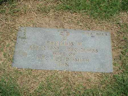 SMITH, PHILLIS V - Pulaski County, Arkansas   PHILLIS V SMITH - Arkansas Gravestone Photos