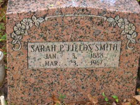 FIELDS SMITH, SARAH P. - Pulaski County, Arkansas | SARAH P. FIELDS SMITH - Arkansas Gravestone Photos