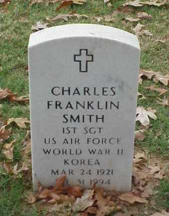 SMITH (VETERAN 2 WARS), CHARLES FRANKLIN - Pulaski County, Arkansas | CHARLES FRANKLIN SMITH (VETERAN 2 WARS) - Arkansas Gravestone Photos