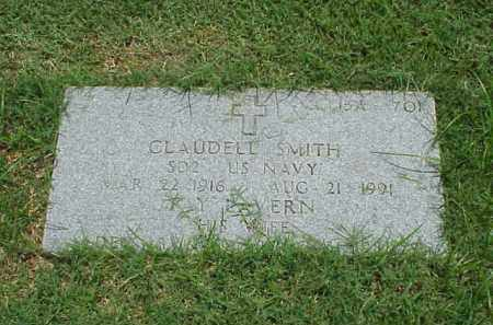 SMITH (VETERAN WWII), CLAUDELL - Pulaski County, Arkansas | CLAUDELL SMITH (VETERAN WWII) - Arkansas Gravestone Photos