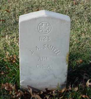 SMITH (VETERAN CSA), J A - Pulaski County, Arkansas   J A SMITH (VETERAN CSA) - Arkansas Gravestone Photos