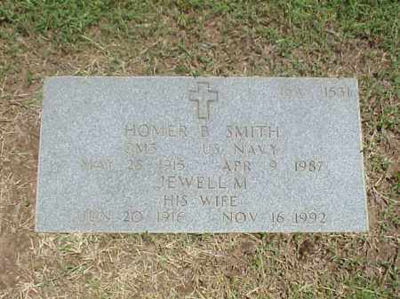 SMITH (VETERAN WWII), HOMER B - Pulaski County, Arkansas | HOMER B SMITH (VETERAN WWII) - Arkansas Gravestone Photos