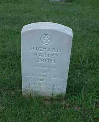 SMITH (VETERAN KOR), RICHARD HARLEY - Pulaski County, Arkansas | RICHARD HARLEY SMITH (VETERAN KOR) - Arkansas Gravestone Photos