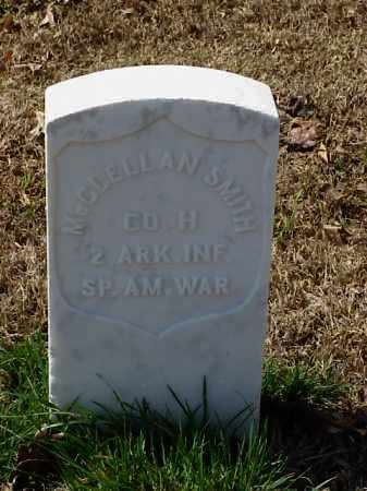 SMITH (VETERAN SAW), MCCLELLAN - Pulaski County, Arkansas   MCCLELLAN SMITH (VETERAN SAW) - Arkansas Gravestone Photos