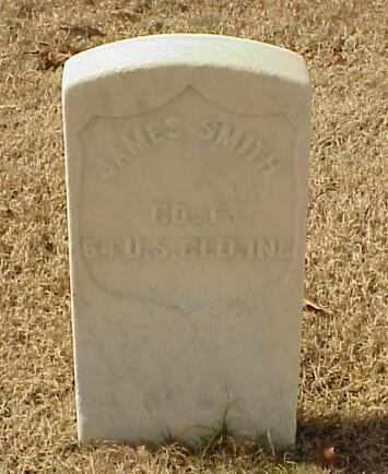SMITH (VETERAN UNION), JAMES - Pulaski County, Arkansas   JAMES SMITH (VETERAN UNION) - Arkansas Gravestone Photos