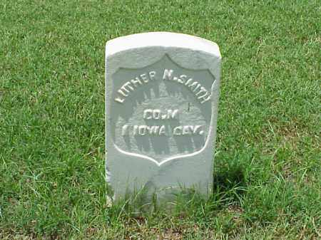 SMITH (VETERAN UNION), LUTHER N - Pulaski County, Arkansas | LUTHER N SMITH (VETERAN UNION) - Arkansas Gravestone Photos