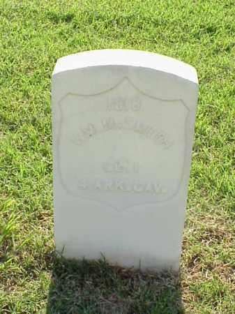 SMITH (VETERAN UNION), WILLIAM M - Pulaski County, Arkansas | WILLIAM M SMITH (VETERAN UNION) - Arkansas Gravestone Photos