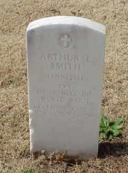 SMITH (VETERAN WWI), ARTHUR E - Pulaski County, Arkansas   ARTHUR E SMITH (VETERAN WWI) - Arkansas Gravestone Photos