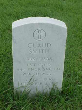 SMITH (VETERAN WWI), CLAUD - Pulaski County, Arkansas | CLAUD SMITH (VETERAN WWI) - Arkansas Gravestone Photos