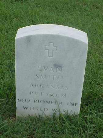 SMITH (VETERAN WWI), EVAN - Pulaski County, Arkansas | EVAN SMITH (VETERAN WWI) - Arkansas Gravestone Photos