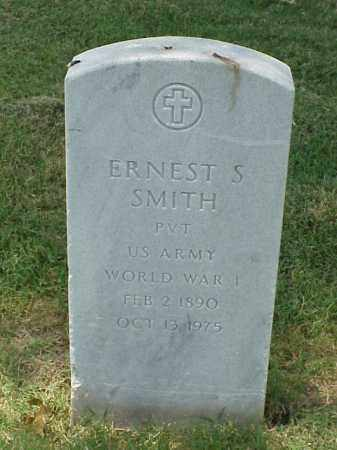 SMITH (VETERAN WWI), ERNEST S - Pulaski County, Arkansas   ERNEST S SMITH (VETERAN WWI) - Arkansas Gravestone Photos