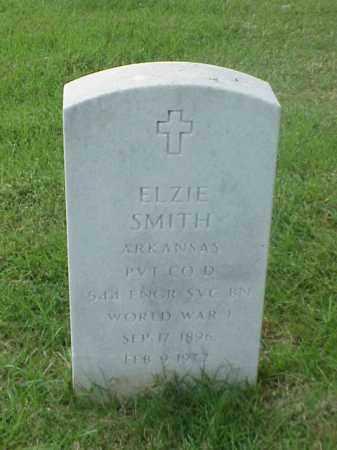 SMITH (VETERAN WWI), ELZIE - Pulaski County, Arkansas | ELZIE SMITH (VETERAN WWI) - Arkansas Gravestone Photos