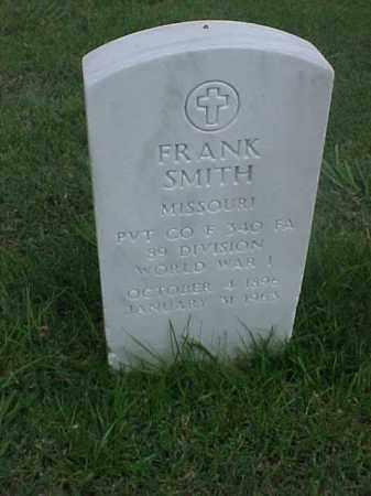 SMITH (VETERAN WWI), FRANK - Pulaski County, Arkansas | FRANK SMITH (VETERAN WWI) - Arkansas Gravestone Photos
