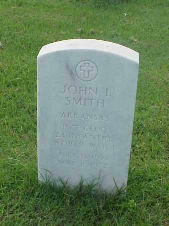 SMITH (VETERAN WWI), JOHN L - Pulaski County, Arkansas   JOHN L SMITH (VETERAN WWI) - Arkansas Gravestone Photos