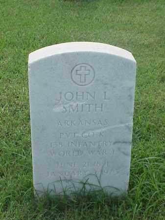 SMITH (VETERAN WWI), JOHN L - Pulaski County, Arkansas | JOHN L SMITH (VETERAN WWI) - Arkansas Gravestone Photos