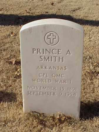 SMITH (VETERAN WWI), PRINCE A - Pulaski County, Arkansas   PRINCE A SMITH (VETERAN WWI) - Arkansas Gravestone Photos