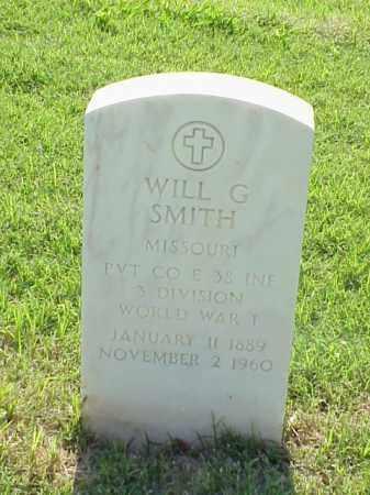 SMITH (VETERAN WWI), WILL G - Pulaski County, Arkansas | WILL G SMITH (VETERAN WWI) - Arkansas Gravestone Photos