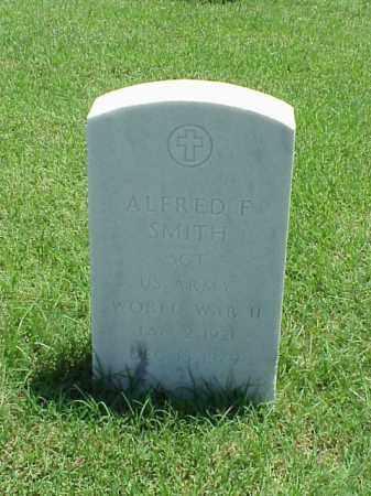 SMITH (VETERAN WWII), ALFRED F - Pulaski County, Arkansas | ALFRED F SMITH (VETERAN WWII) - Arkansas Gravestone Photos