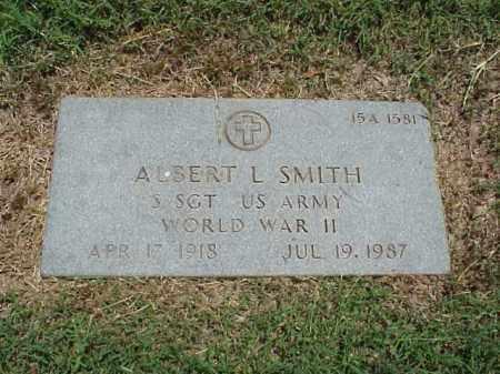 SMITH (VETERAN WWII), ALBERT - Pulaski County, Arkansas | ALBERT SMITH (VETERAN WWII) - Arkansas Gravestone Photos