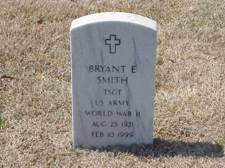 SMITH (VETERAN WWII), BRYANT E - Pulaski County, Arkansas   BRYANT E SMITH (VETERAN WWII) - Arkansas Gravestone Photos