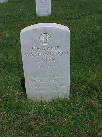 SMITH (VETERAN WWII), CHARLIE - Pulaski County, Arkansas   CHARLIE SMITH (VETERAN WWII) - Arkansas Gravestone Photos