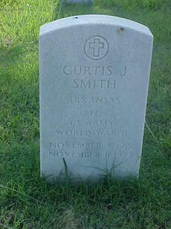 SMITH (VETERAN WWII), CURTIS J - Pulaski County, Arkansas | CURTIS J SMITH (VETERAN WWII) - Arkansas Gravestone Photos