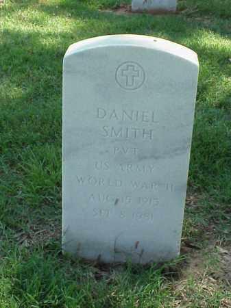 SMITH (VETERAN WWII), DANIEL - Pulaski County, Arkansas | DANIEL SMITH (VETERAN WWII) - Arkansas Gravestone Photos