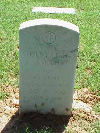 SMITH (VETERAN WWII), ERNEST H - Pulaski County, Arkansas   ERNEST H SMITH (VETERAN WWII) - Arkansas Gravestone Photos