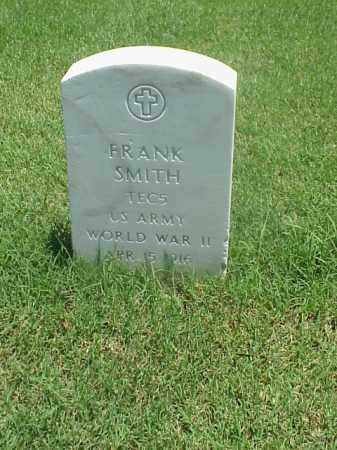 SMITH (VETERAN WWII), FRANK - Pulaski County, Arkansas   FRANK SMITH (VETERAN WWII) - Arkansas Gravestone Photos
