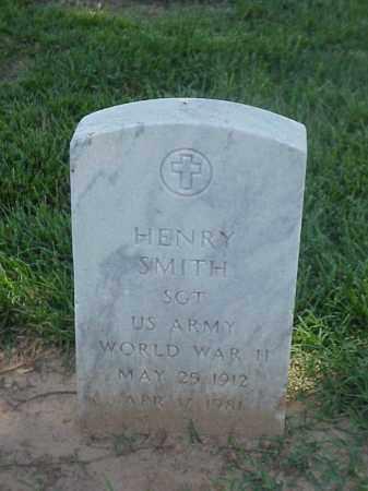SMITH (VETERAN WWII), HENRY - Pulaski County, Arkansas | HENRY SMITH (VETERAN WWII) - Arkansas Gravestone Photos