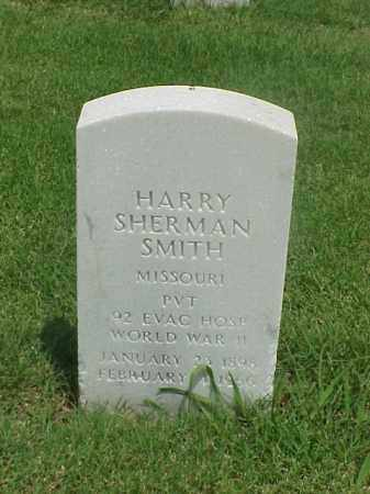 SMITH (VETERAN WWII), HARRY SHERMAN - Pulaski County, Arkansas | HARRY SHERMAN SMITH (VETERAN WWII) - Arkansas Gravestone Photos