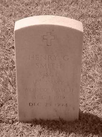 SMITH (VETERAN WWII), HENRY G - Pulaski County, Arkansas | HENRY G SMITH (VETERAN WWII) - Arkansas Gravestone Photos