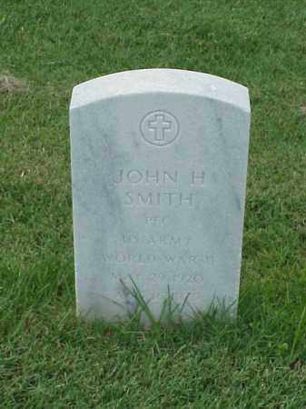 SMITH (VETERAN WWII), JOHN H - Pulaski County, Arkansas | JOHN H SMITH (VETERAN WWII) - Arkansas Gravestone Photos