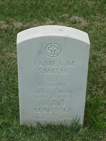 SMITH (VETERAN WWII), JAMES M - Pulaski County, Arkansas | JAMES M SMITH (VETERAN WWII) - Arkansas Gravestone Photos