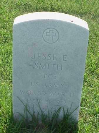 SMITH (VETERAN WWII), JESSE E - Pulaski County, Arkansas   JESSE E SMITH (VETERAN WWII) - Arkansas Gravestone Photos