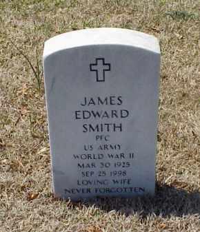 SMITH (VETERAN WWII), JAMES EDWARD - Pulaski County, Arkansas | JAMES EDWARD SMITH (VETERAN WWII) - Arkansas Gravestone Photos