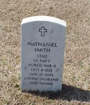 SMITH (VETERAN WWII), NATHANIEL - Pulaski County, Arkansas | NATHANIEL SMITH (VETERAN WWII) - Arkansas Gravestone Photos
