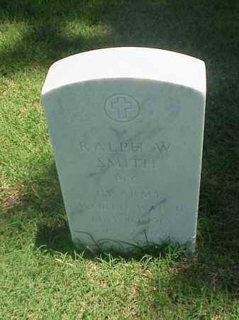 SMITH (VETERAN WWII), RALPH W - Pulaski County, Arkansas   RALPH W SMITH (VETERAN WWII) - Arkansas Gravestone Photos