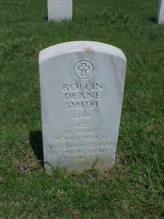 SMITH (VETERAN WWII), ROLLIN DEANE - Pulaski County, Arkansas | ROLLIN DEANE SMITH (VETERAN WWII) - Arkansas Gravestone Photos